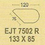 Meja Kantor Modera EJT 7502 R ( E Class )