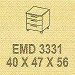 Meja Kantor Modera EMD 3331 ( E Class )