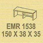 Meja Kantor Modera EMR 1538 ( E Class )