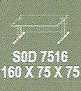 Meja Kantor Modera SOD 7516 ( S Class )