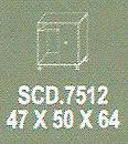 Meja Kantor Modera SCD 7512 ( S Class )