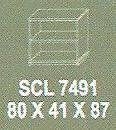 Meja Kantor Modera SCL 7491 ( S Class )
