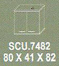 Meja Kantor Modera SCU 7482 ( S Class )