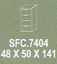 Meja Kantor Modera SFC 7404 ( S Class )
