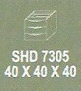 Meja Kantor Modera SHD 7305 ( S Class )