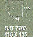 Meja Kantor Modera SJT 7703 ( S Class )