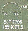 Meja Kantor Modera SJT 7705 ( S Class )