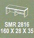 Meja Kantor Modera SMR 2816 ( S Class )
