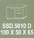 Meja Kantor Modera SSD 5010 D ( S Class )