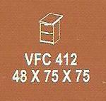 Meja Kantor Modera VFC 412 ( V Class )