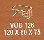 Meja Kantor Modera VOD 126 ( V Class )