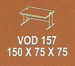 Meja Kantor Modera VOD 157 ( V Class )