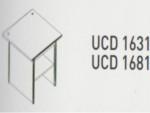 Meja Kantor Uno ( Computer Desk ) UCD 1631 & UCD 1681 ( Classic Series )