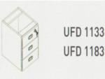 Meja Kantor Uno ( Hanging Drawer) UFD 1133 & UFD 1183 ( Classic Series )
