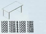 Meja Kantor Uno UOD 1035 & UOD 1085 ( Classic Series )