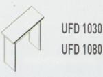 Meja Kantor Uno ( Side Desk ) UFD 1040 & UFD 1080 ( Classic Series )
