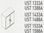 Meja Kantor Uno ( Lower Credenza ) UST 1333 B & UST 1388 B ( Classic Series )