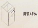 Meja Kantor Uno ( Hanging Drawer ) UFD 4154 ( Gold Series )