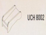 Meja Kantor Uno ( Cpu Holder ) UHC 8002 ( Lavender Series )