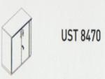 Meja Kantor Uno ( Lower Credenza ) UST 8470 ( Lavender Series )
