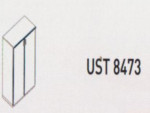 Meja Kantor Uno ( Medium Credenza ) UST 8473 ( Lavender Series )