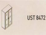 Meja Kantor Uno ( Upper Credenza ) UST 8472 ( Lavender Series )