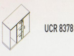 Meja Kantor Uno ( Wide Credenza ) UCR 8378 ( Lavender Series )