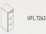 Meja Kantor Uno ( Filling Cabinet ) UFL 7263 ( Modern Series )