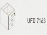 Meja Kantor Uno ( Hanging Drawer ) UFD 7163 ( Modern Series )