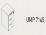 Meja Kantor Uno ( Mobile Drawer ) UMP 7165 ( Modern Series )