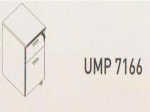 Meja Kantor Uno ( Mobile Drawer ) UMP 7166 ( Modern Series )