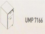 Meja Kantor Uno ( Mobile Drawer ) UMP 7166 ( Modern Series )