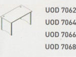 Meja Kantor Uno ( Office Desk ) UOD 7068 ( Modern Series )