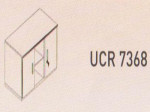 Meja Kantor Uno ( Wide Credenza ) UCR 7368 ( Modern Series )