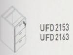 Meja Kantor Uno ( Hanging Drawer ) UFD 2163 & UFD 2153 ( Platinum Series )