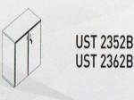 Meja Kantor Uno ( Lower Credenza ) UST 2352 B & UST 2362 B ( Platinum Series )