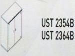 Meja Kantor Uno ( Lower Credenza ) 2354 B B & UST 2364 B ( Platinum Series )