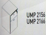 Meja Kantor Uno ( Mobile Drawer ) UMP 2156 & UMP 2166 ( Platinum Series )