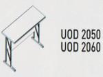 Meja Kantor Uno ( Side Desk & Drawer ) UOD 2050 & UOD 2060 ( Platinum Series )