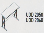 Meja Kantor Uno ( Side Desk & Drawer ) UOD 2050 & UOD 2060 ( Platinum Series )