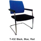 Kursi Kantor Staff & Sekertaris Tiger T – 432 Black Blue Red