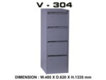 Filling Cabinet ViP 4 Laci V-304