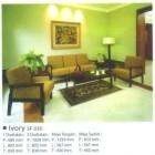 Kursi Sofa Ligna Ivory SF 030